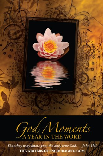 God Moments: A Year in the Word by The writers of Encouraging.com