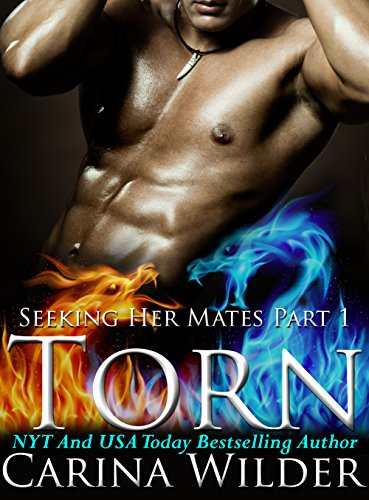 Torn: A Dragon Shifter BBW Menage Serial (Seeking Her Mates Book 1) by Carina Wilder