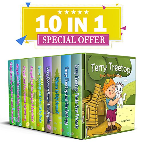 Kids book: The Terry Treetop Collection by Tali Carmi and Mindy Liang