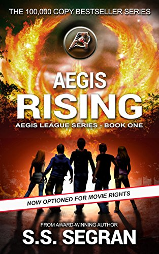 AEGIS RISING: Action Adventure Mystery Thriller (The Aegis League Series Book 1) by S.S. Segran and Gordon Williams