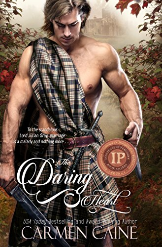 The Daring Heart (The Highland Heather and Hearts Scottish Romance Series Book 3) by Carmen Caine