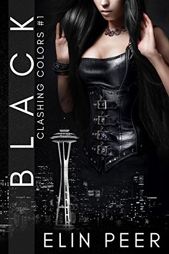 BLACK (Clashing Colors Book 1) by Elin Peer and Book Cover by Design