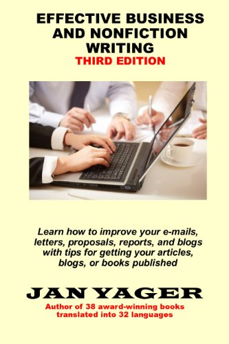 Effective Business and Nonfiction Writing by Jan Yager