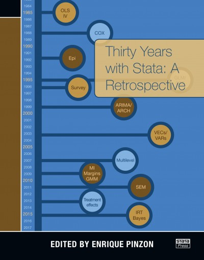 Thirty Years with Stata: A Retrospective by Enrique Pinzon