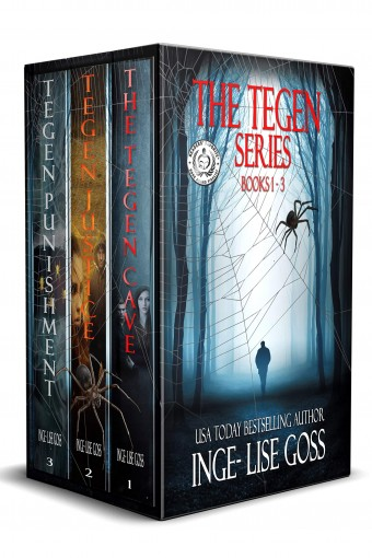 The Tegen Series: Books 1-3 by Inge-Lise Goss
