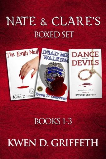 Nate & Clare's Boxed Set: Books 1 – 3 by Kwen D Griffeth