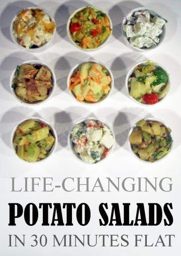 Life-Changing Potato Salads: In 30 Minutes Flat (Grace Légere Cookbooks Book 3) by Grace Légere