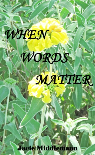When Words Matter by Jacie Middlemann