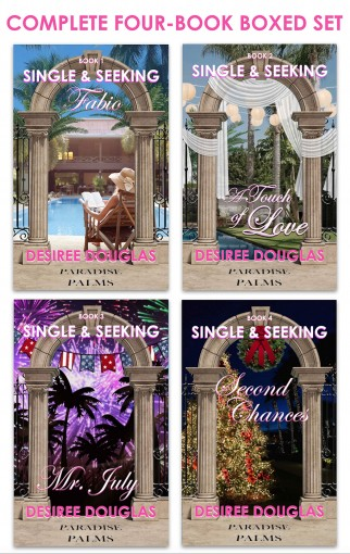 Single & Seeking: Complete Four-Book Boxed Set by Desiree Douglas