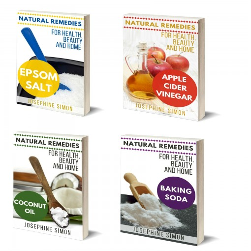 Natural Remedies for Health, Home, and Beauty Box Set 4 Books in 1: Vol1: Epsom Salt; Vol. 2: Apple Cider Vinegar; Vol. 3: Coconut Oil; Vol 4: Baking Soda by Josephine Simon