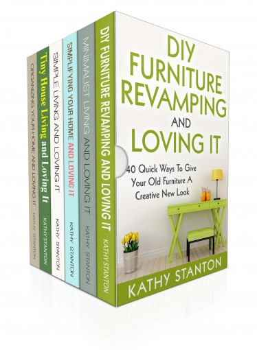 200 Ways To Organize And Redecorate Your Home: 6 Manuscripts: Learn Creative Ways To Makeover Your Home And Get Organized At The Same Time (How To Organize … DIY Hacks, Simplify Your Space Book 1) by Kathy Stanton
