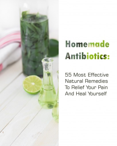 Homemade Antibiotics: 55 Most  Effective Natural Remedies To Relief Your Pain And Heal Yourself by Betty McBride