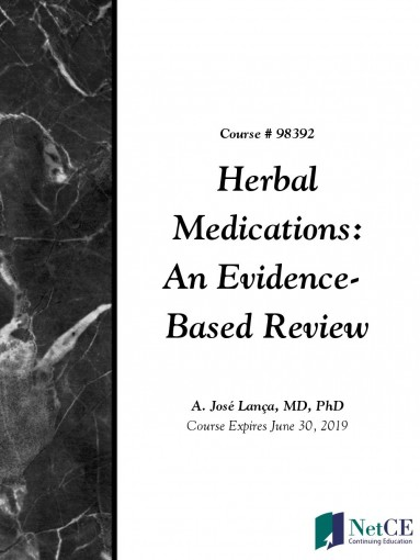 Herbal Medications: An Evidence-Based Review by NetCE