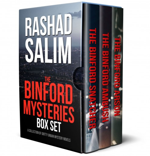The Binford Mysteries: A Collection of Mystery Novels (3-BOOK BOX SET) by Rashad Salim