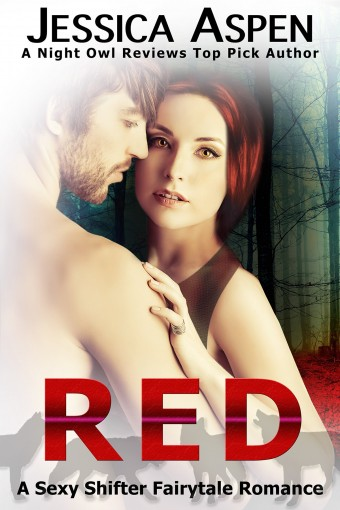 RED: A Sexy Shifter Fairytale Romance (Sexy Shifter Fairytale Romances Book 1) by Jessica Aspen