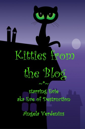 Kitties from the Blog: starring Evie aka Eve of Destruction by Angela Verdenius
