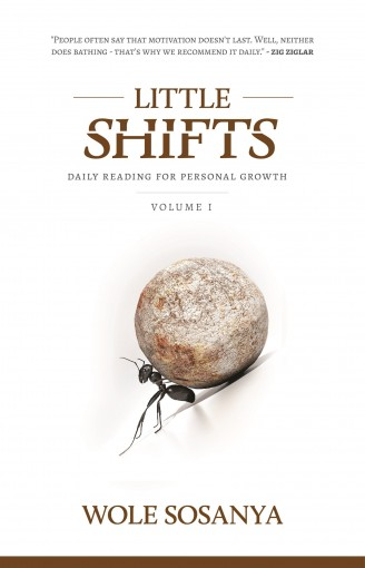 Little Shifts: Daily Reading For Personal Growth (Little Shifts Series Book 1) by Wole Sosanya