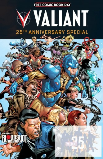 FCBD 2015: Valiant 25th Anniversary Special by Jeff Lemire