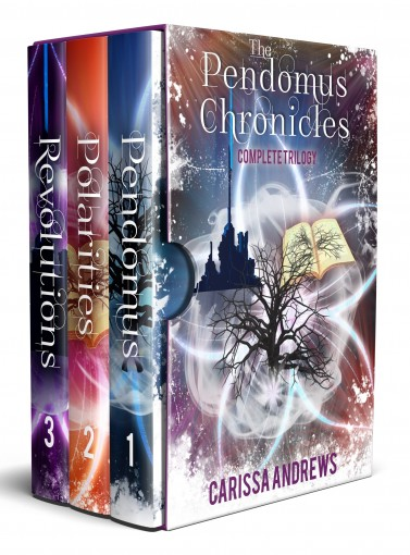 The Complete Pendomus Chronicles Trilogy: Books 1-3 of the Pendomus Chronicles Dystopian Scifi Fantasy Boxed Set Series by Carissa Andrews
