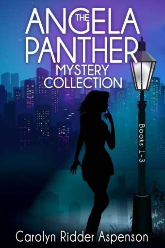 The Angela Panther Mystery Collection Books 1 – 3: The Angela Panther Mystery Series by Carolyn Ridder Aspenson