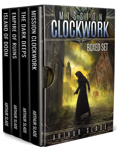 Mission Clockwork Complete Boxed Set by Arthur Slade