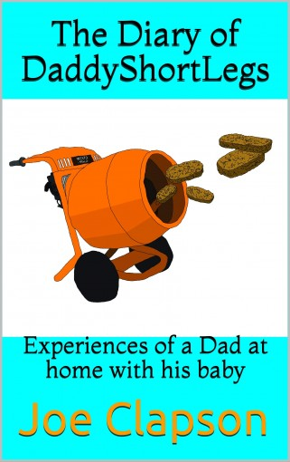 The Diary of DaddyShortLegs: Experiences of a Dad at home with his baby by Joe Clapson