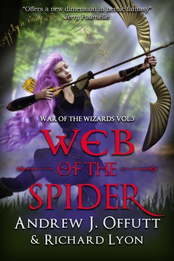 Web of the Spider by Andrew J. Offutt