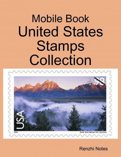 Mobile Book: United States Stamps Collection by Renzhi Notes