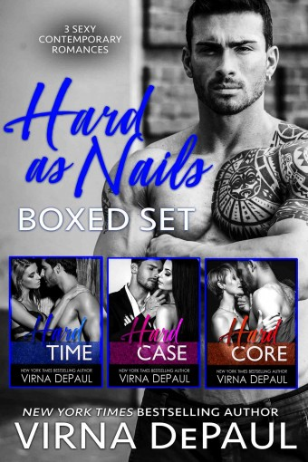 Hard As Nails Boxed Set: Books 1-3 by Virna DePaul