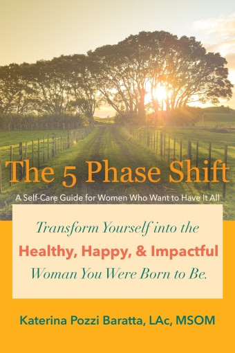 The 5 Phase Shift: A Self-Care Guide for Women Who Want to Have It All by Pozzi Baratta, Katerina