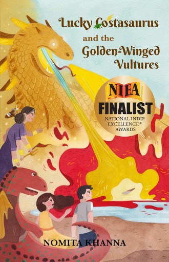 Lucky Costasaurus and the Golden-Winged Vultures by Nomita Khanna