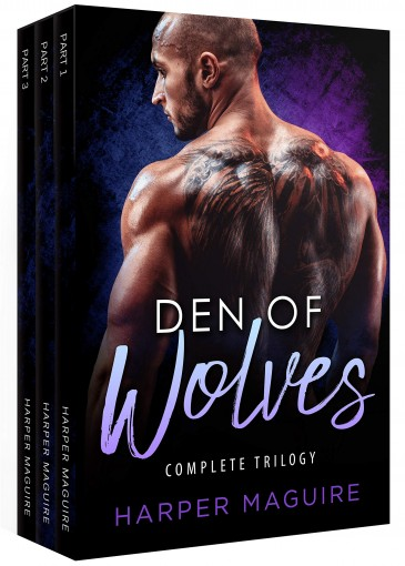 Den of Wolves: Complete Trilogy by Harper Maguire