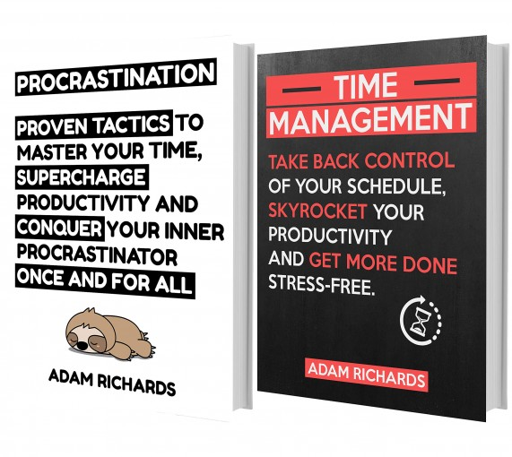 Productivity Books: Become Extremely Productive, Conquer Your Inner Procrastinator And Get More Done With These Practical Guides (Productivity Books, Procrastination Books, Time Management Books) by Adam Richards
