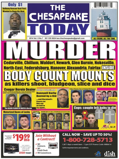 THE CHESAPEAKE TODAY November 2014 – All Crime, All the Time by Ken Rossignol
