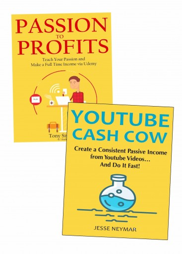Sell Information Products Even Without Product Creation: 2 Book Business Bundle About Information Product Selling & Affiliate Marketing by Tony Simmons