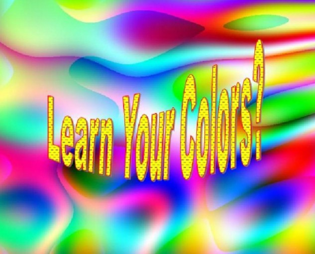 Learn Your Colors? by David Hession