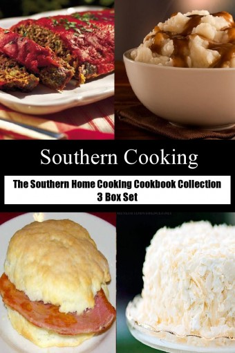 The Southern Home Cooking Cookbook Collection 3 Box Set by Cheryl Leonard