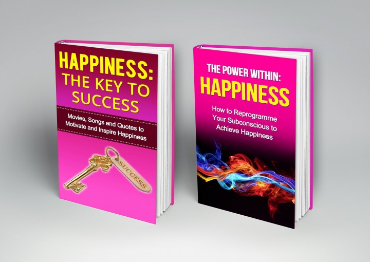 How to be Happy Book Bundle (2 books for the price of 1 book bundle): Book 1  -Reprogramme Your Subconscious to Achieve Happiness Book 2 – Movies, Songs … (The Power Within/Key to Success Series 4) by G Hunter