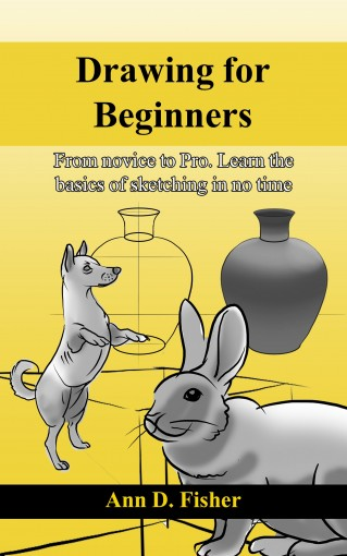 Drawing for Beginners.: From Novice to Pro. Learn the basics of sketching in no time! (Sketching for beginners Book 1) by Ann D. Fisher