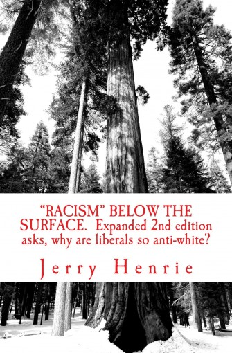 Racism, below the surface.: Expanded 2nd edition. Why are liberals anti-white? by Jerry Henrie