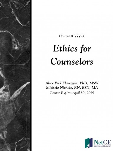 Ethics for Counselors by NetCE