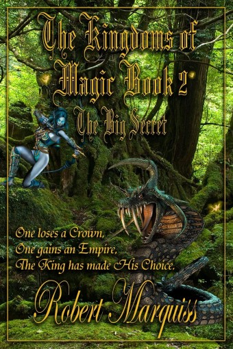 The Kingdoms of Magic Book 2: The Big Secret by Robert Marquiss