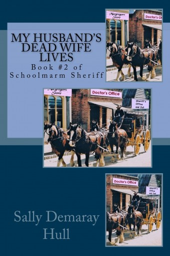 My Husband's Dead Wife Lives (Schoolmarm Sheriff Book 2) by Sally Hull