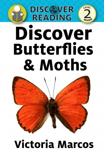 Discover Butterflies & Moths: Level 2 Reader (Discover Reading) by Victoria Marcos